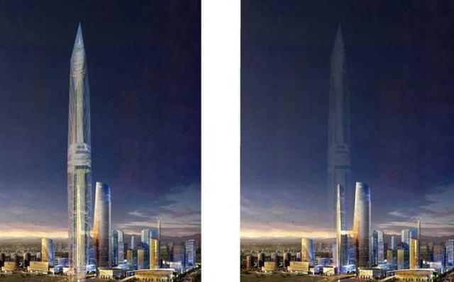 Tòa tháp vô hình