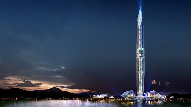 Công trình sẽ được xây ngay gần sân bay Incheon để đón du khách thăm quan.