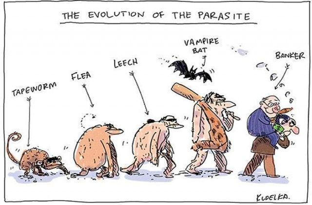 """Sự tiến hoá của con người được biến chuyển thành những """"Động vật ký sinh"""" sống dựa vào người khác!"""