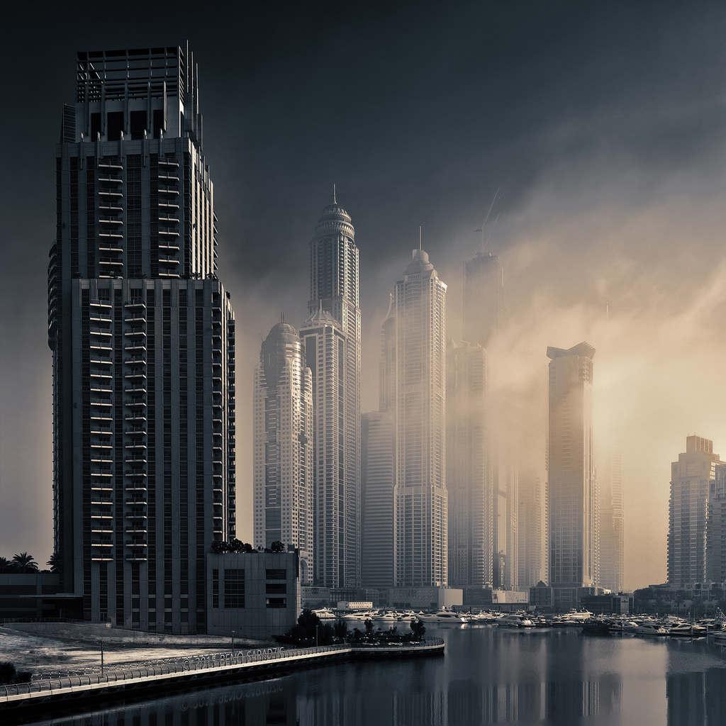 Ánh sáng xuyên bóng tối, Dubai.
