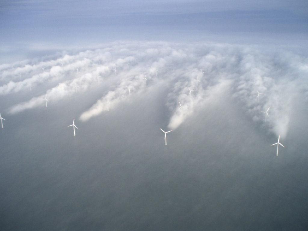 Tua bin gió trong sương mù, Đan Mạch.
