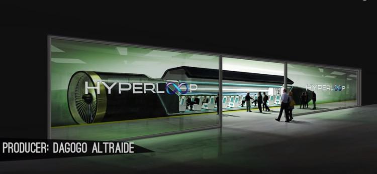 Ý tưởng Hyperloop được đề xuất bởi CEO SpaceX Elon Musk như một mô hình vận chuyển thứ 5 của nhân loại.