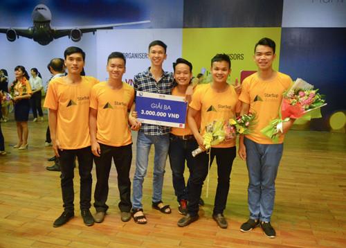 """Dự án đã giành giải ba tại Cuộc thi Ý tưởng khởi nghiệp """"Danang Runway Startup 2016""""."""