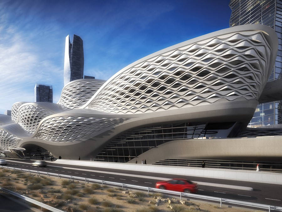 Riyadh Metro, đường tàu trị giá 23,5 tỷ USD của Saudi Arabia, sẽ có một nhà ga do kiến trúc sư nổi tiếng Zaha Hadid thiết kế