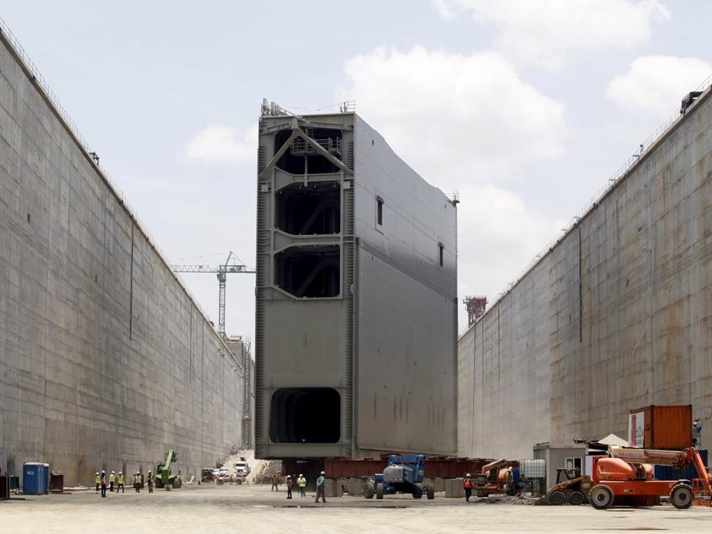 Phần mới mở rộng của kênh đào Panama được khai trương đầu tháng 6
