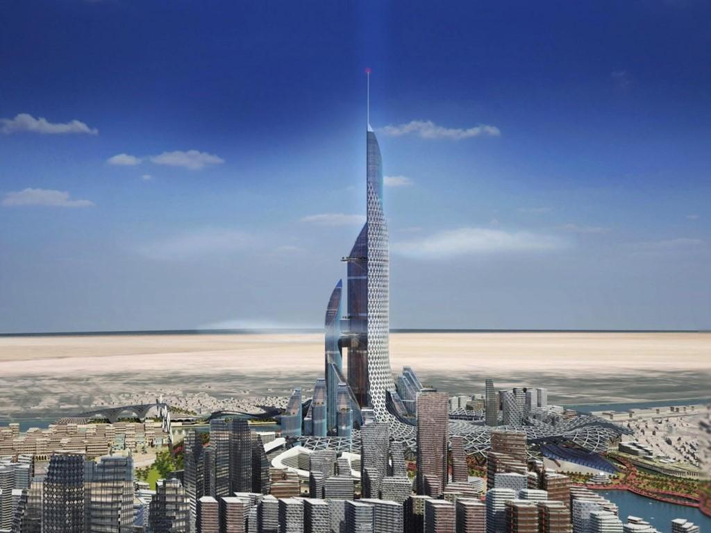 Tòa tháp The Bride của Iraq