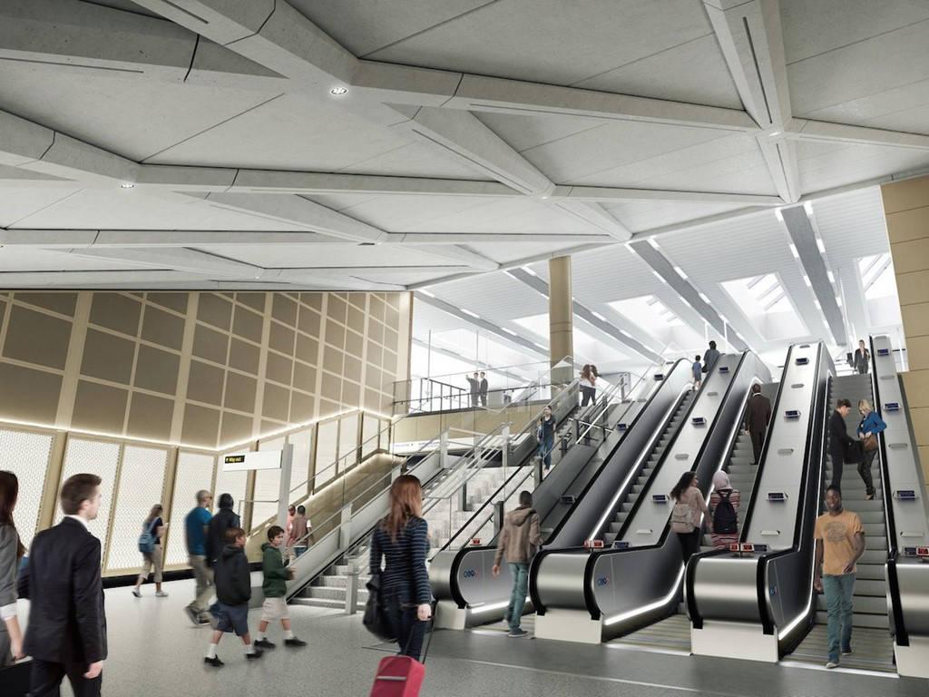 Dự án Crossrail nâng cấp hệ thống tàu điện ngầm London (Anh) là dự án xây dựng lớn nhất lịch sử ở châu Âu.