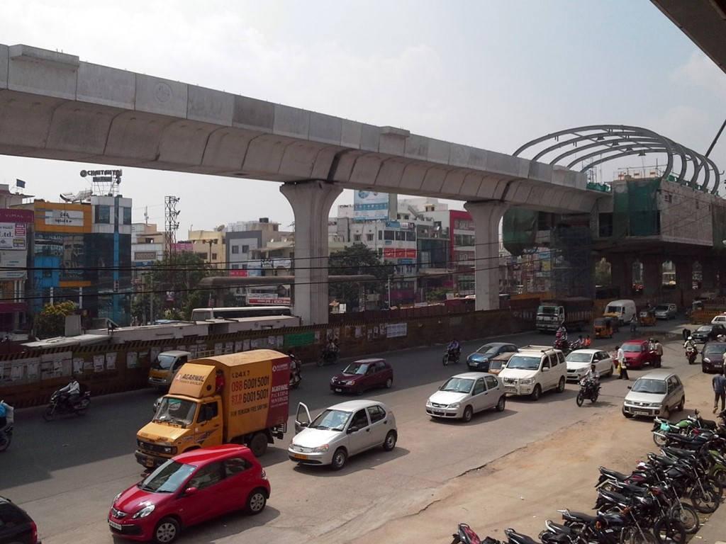 Đường tàu Hyderabad dài 74 km sẽ đem lại cho Ấn Độ khả năng kiểm soát giao thông tàu hỏa.