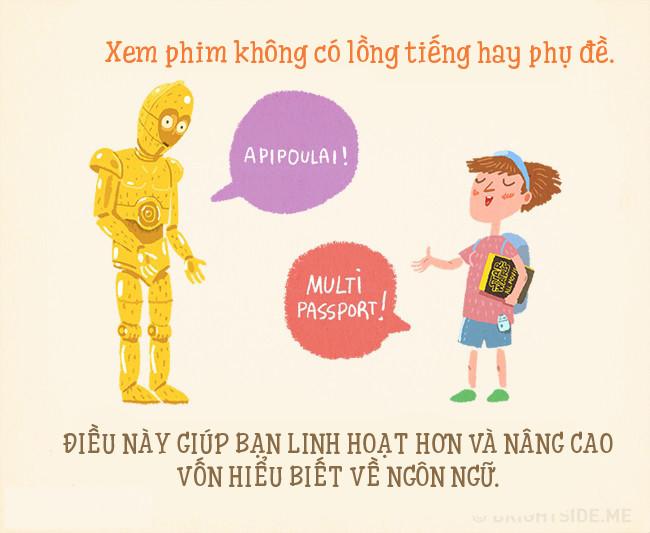 Xem phin không lồng tiếng sẽ giúp bạn nâng cao vốn hiểu biết về ngôn ngữ.