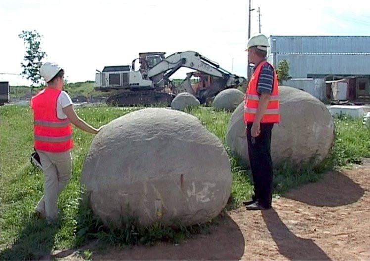 Những khối cầu đá kỳ lạ này được hình thành do một quá trình tự nhiên tương tự như cách ngọc trai ra đời.