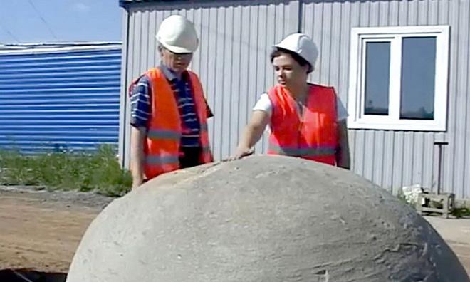 Được gọi là khối kết hạch, các quả cầu đá hình thành trên lớp đá trầm tích do sự lắng đọng của một lượng lớn vật liệu có nguồn gốc hữu cơ như lá, vỏ sò, hóa thạch quanh một nhân cứng.