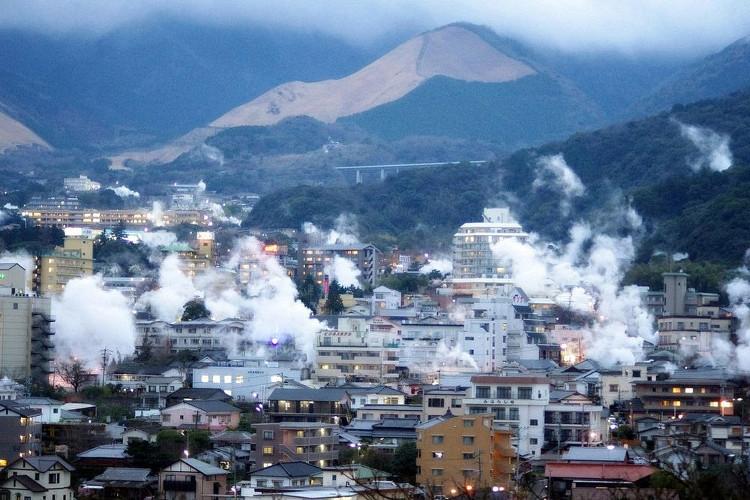 Thành phố Beppu - Nhật Bản.
