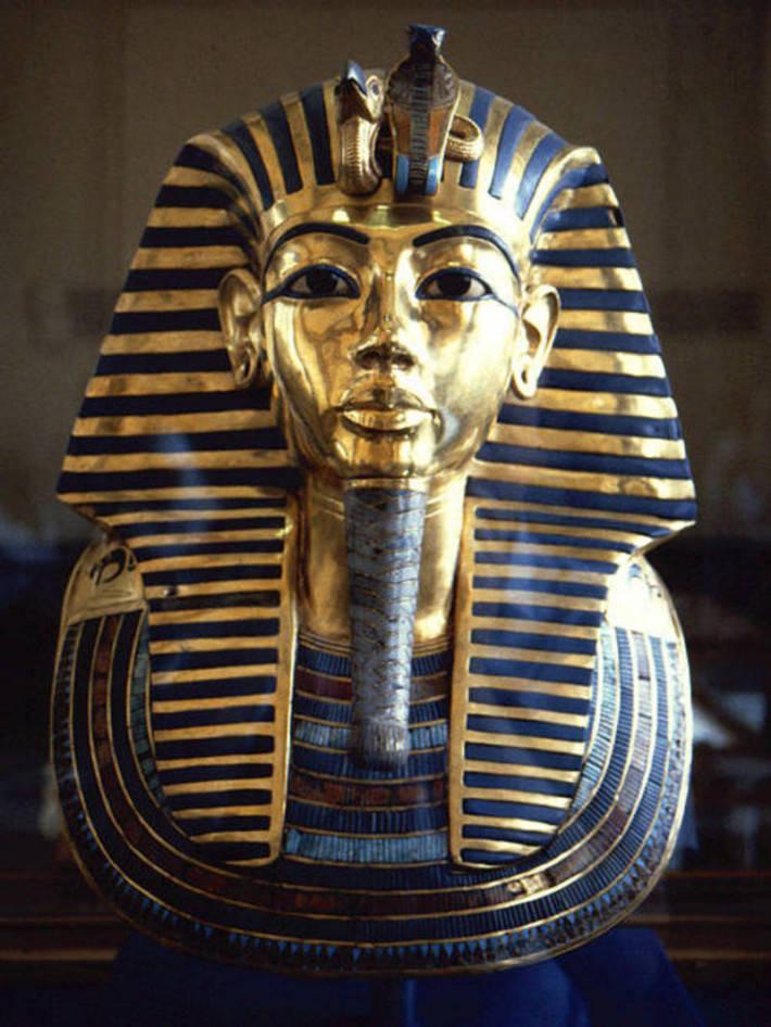 Mặt nạ vua Nebkheperura Tutankhamun.