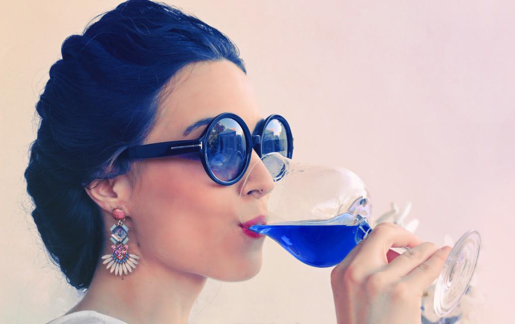 Rượu vang xanh này có tên là Gik