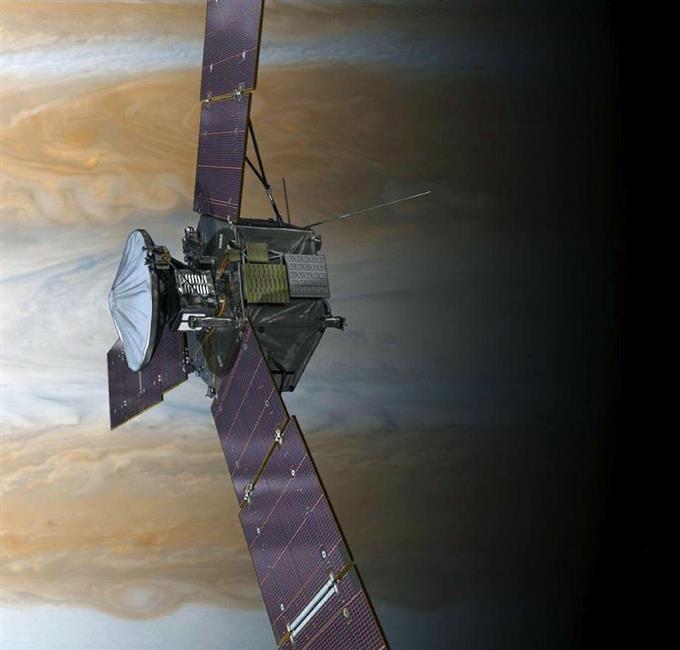 Vệ tinh Juno của NASA khởi động vào năm 2011.