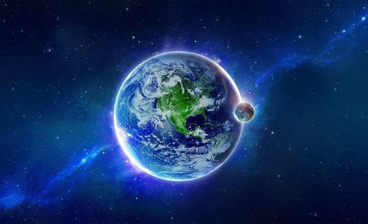 Trái đất có mật độ đồng đều: khoảng 5500kg mỗi mét khối.