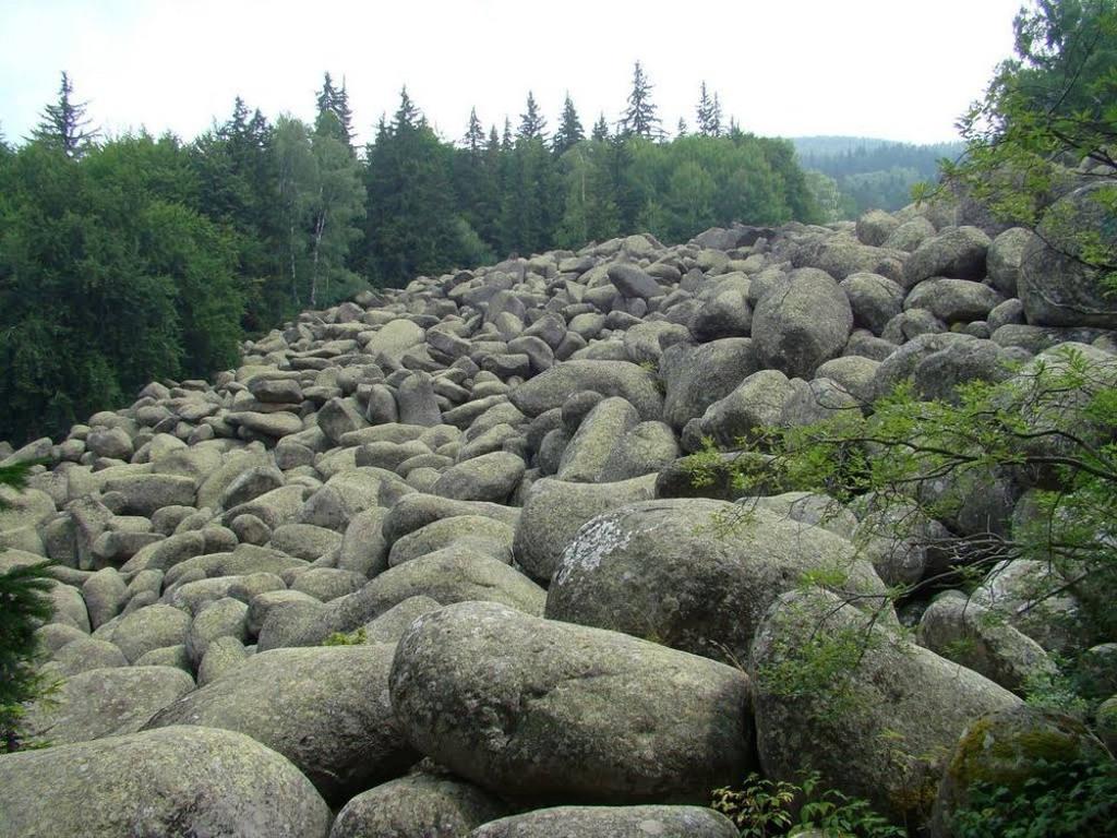 Một trong những dòng sông đá dài nhất tại vùng núi Vitosha nằm ở thượng nguồn của dòng sông Vladayska trên cao nguyên Subalpine.