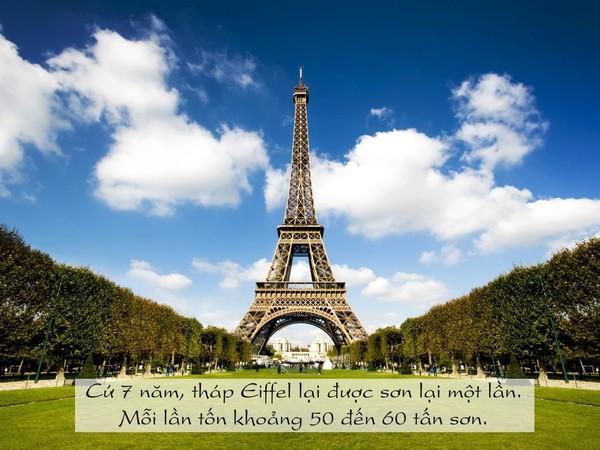 Điều này nhằm bảo vệ cho biểu tượng của Paris khỏi tình trạng gỉ sét.