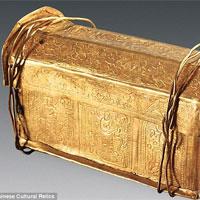Hài cốt Phật Thích ca Mâu ni trong rương ngàn năm ở Trung Quốc?