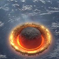 Video: Sức mạnh hủy diệt của tiểu hành tinh khi va vào Trái Đất