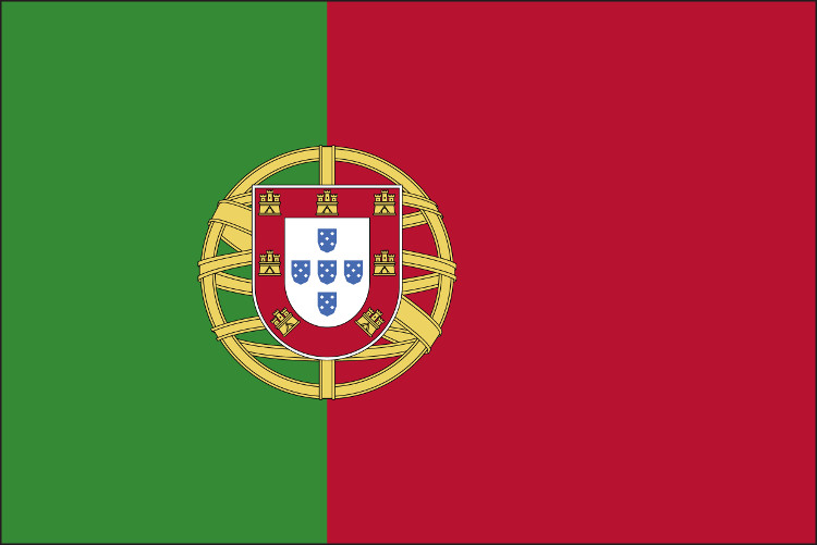Cờ Bồ Đào Nha.