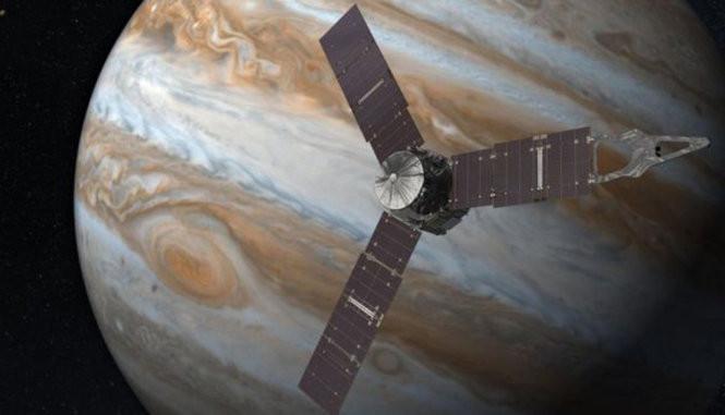 Tàu Juno và Mộc Tinh
