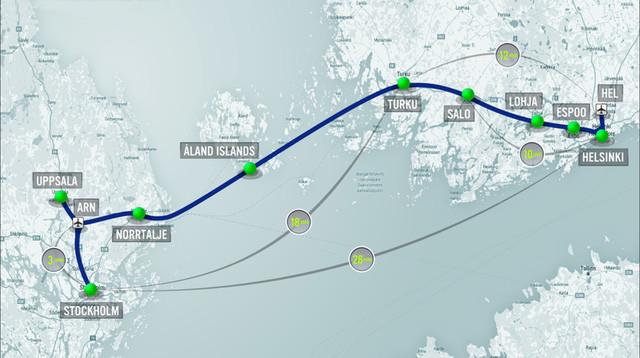 Tuyến Hyperloop Bắc Âu này sẽ tạo ra lợi nhuận sau 10 năm nhờ những lợi ích kinh tế mà nó mang lại.