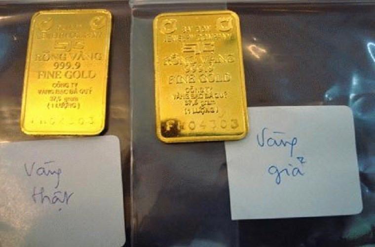 Vàng thật, vàng giả