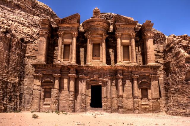 Thành phố cổ Petra.