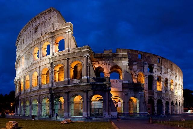 Đấu trường La Mã cổ đại.