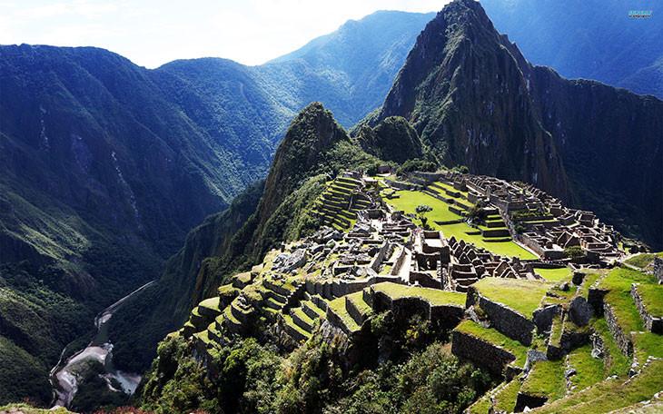 Khu di tích Machu Picchu.