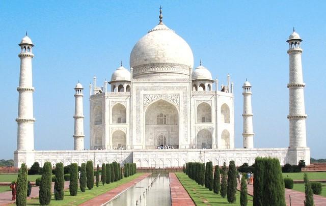 Đền Taj Mahal.