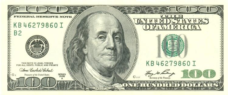 2/3 số tờ 100 USD lại được lưu hành bên ngoài lãnh thổ nước Mỹ.