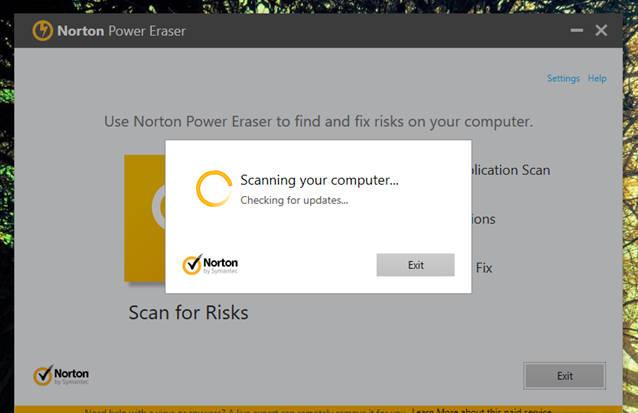 Nếu máy tính bị nhiễm, Norton Power Eraser sẽ nhanh chóng nhận diện và loại trừ chúng cho bạn.