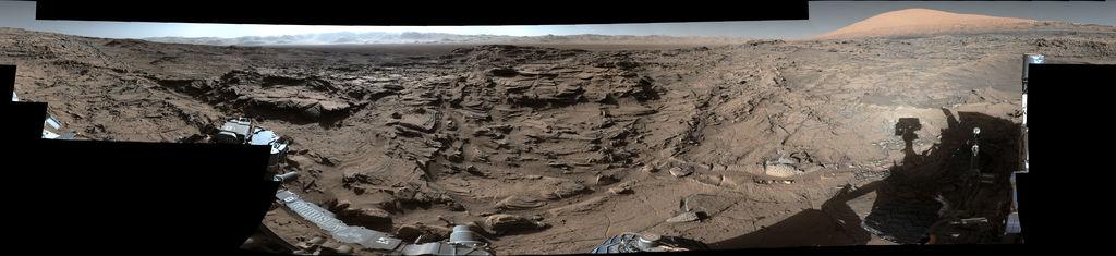Một bức ảnh sắc nét khác mà Curiosity gửi về Trái Đất trong quá trình thực hiện sứ mệnh thăm dò.