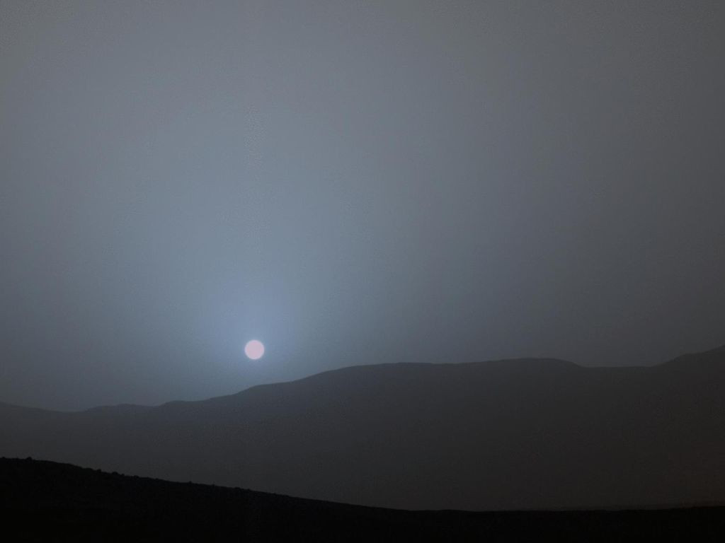 Curiosity thậm chí có thể cho chúng ta thấy cảnh hoàng hôn trên sao Hỏa.