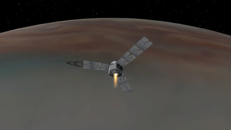 Juno là tàu vũ trụ nhanh nhất hiện nay.