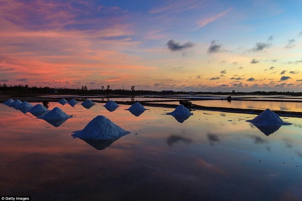 Việt Nam có rất nhiều điểm tham quan hấp dẫn, trong đó có các đồng muối.