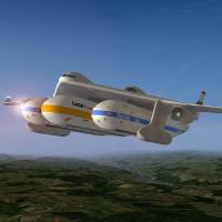 Ý tưởng máy bay với 3 cabin có thể tách rời, biến thành toa xe lửa sau khi hạ cánh