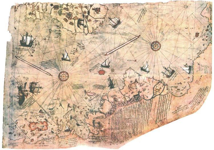 Bản đồ Piri Haji Muhiddin