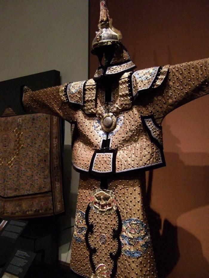 Đây là bộ áo giáp dành cho binh lính của nhà Thanh.