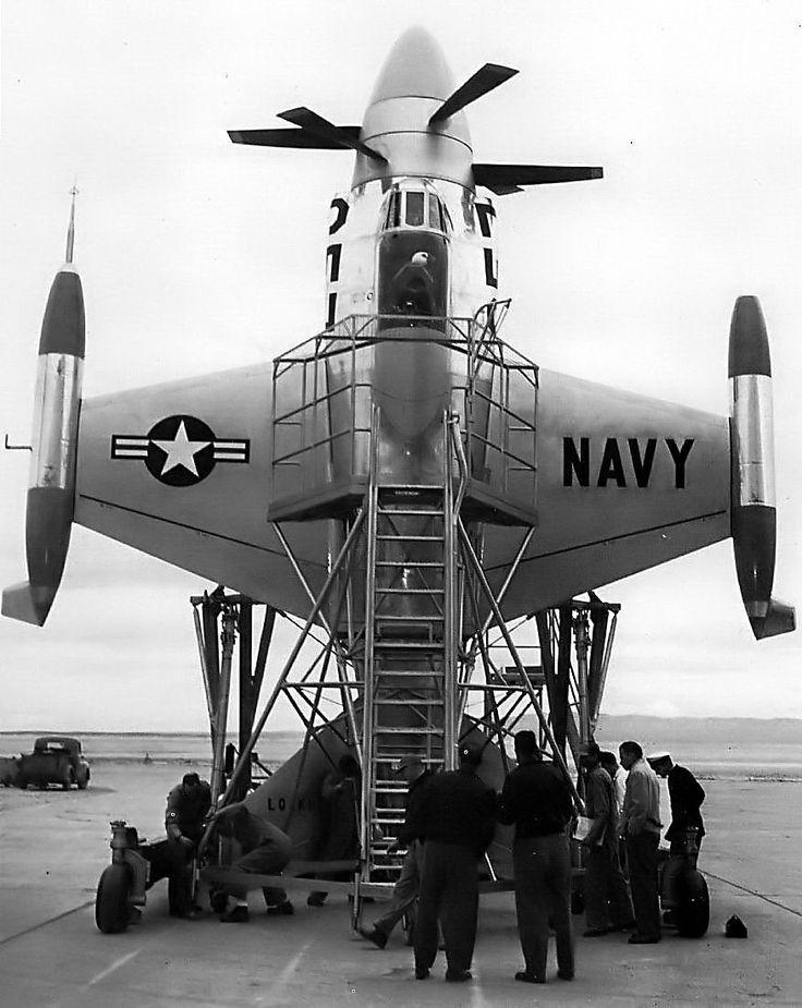 "Máy bay lai trực thăng Lockheed XFV ""Salmon"""