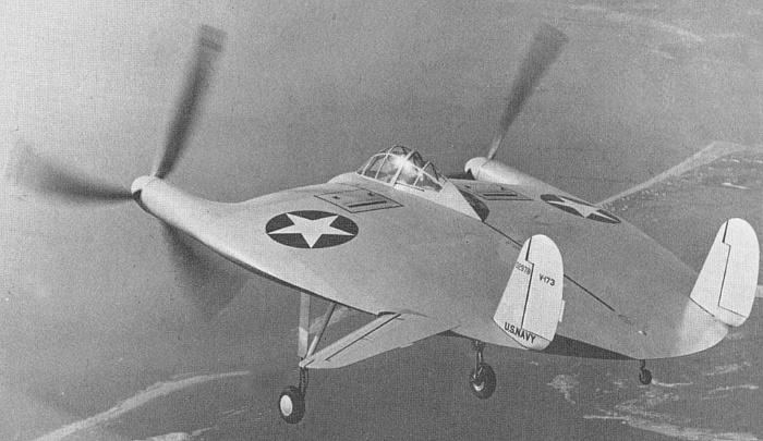 Máy bay hình đĩa Vought V173