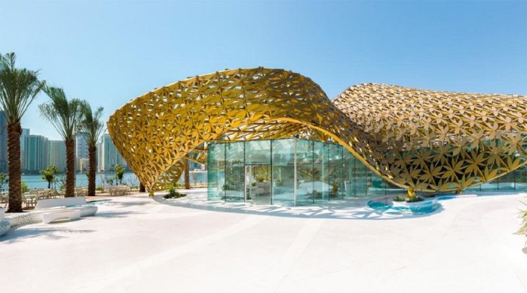 Công trình tọa lạc tại Đảo Noor ở UAE.