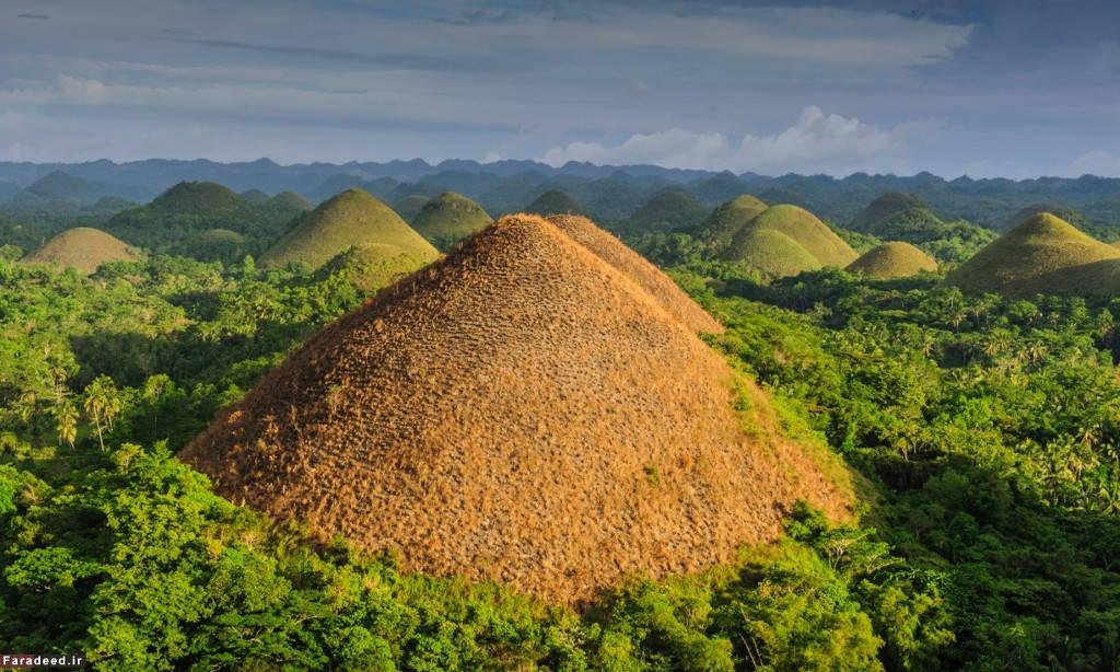 Những ngọn đồi sô-cô-la, Bohol, Philippines