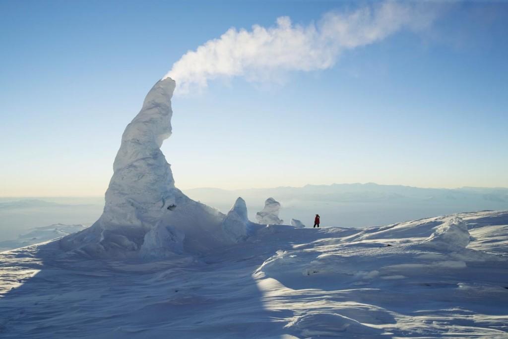 Tháp băng của núi Erebus (Nam Cực)