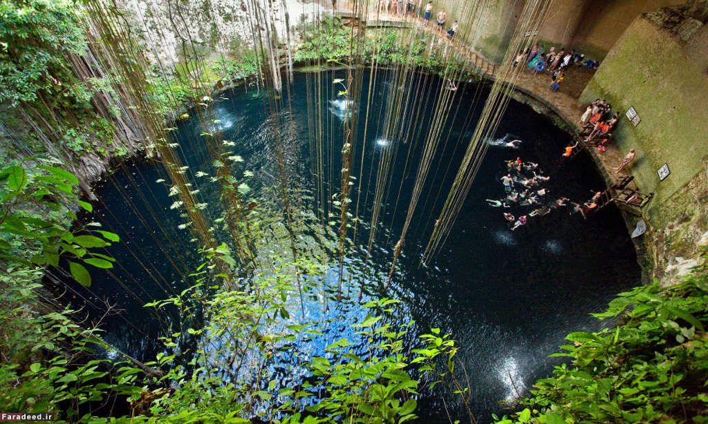 Giếng Ik-Kil, Yucatan, Mexico