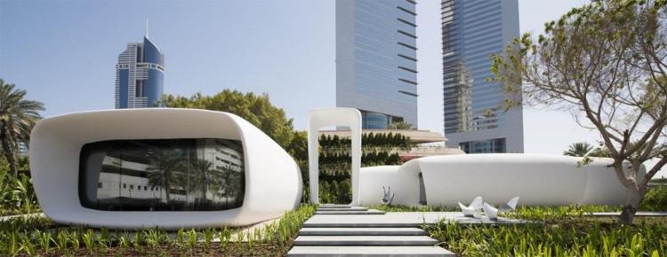 Được gọi là Văn phòng của Tương lai, nó được xây dựng chỉ trong 17 ngày.