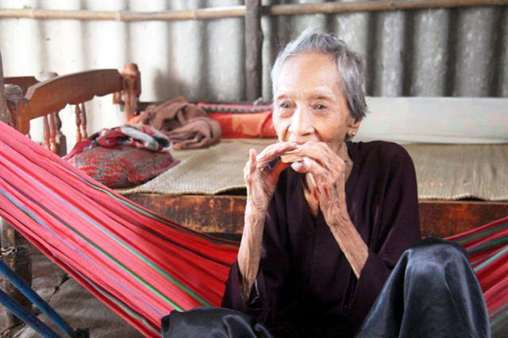 Cụ bà Nguyễn Thị Trù.