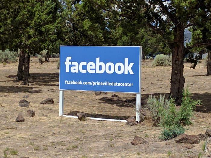 Trung tâm data center của Facebook đặt tại thành phố Prineville, bang Oregon